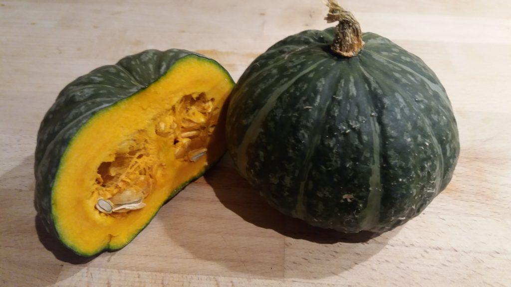 Japanese Pumpkin Cut